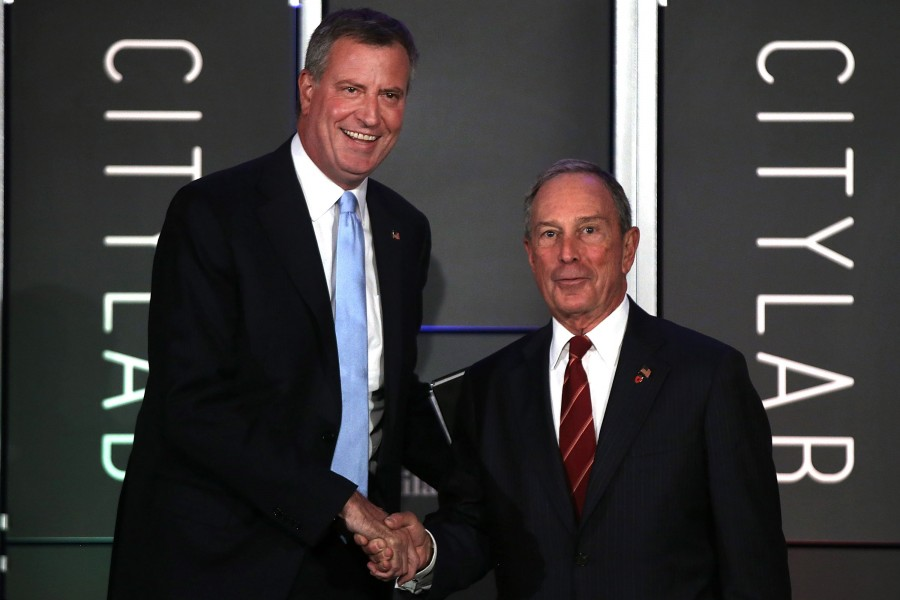 Mayor Bloomberg Introduces Mayor Candidates At City Lab Forum On Urban Ideas